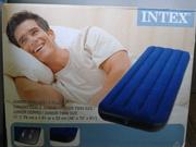 Одноместный надувной матрас Intex