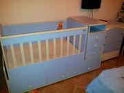 Продам детскую кровать-манеж от 0 до 9 лет