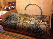 Продам б/у кровать 1, 2х1, 9м. 15 тыс. тг. Торг. 87775852414