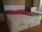 Продам кровать с подъемным механизмом и с мягким изголовьем