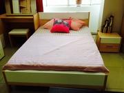 кровать 2-х спальная с ортопедическим матрацем -Дядьково