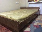 Срочно продам двуспальную кровать с матрасами - 18 000 тг!!!