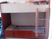 Продам 2 ярусную  кровать б/у